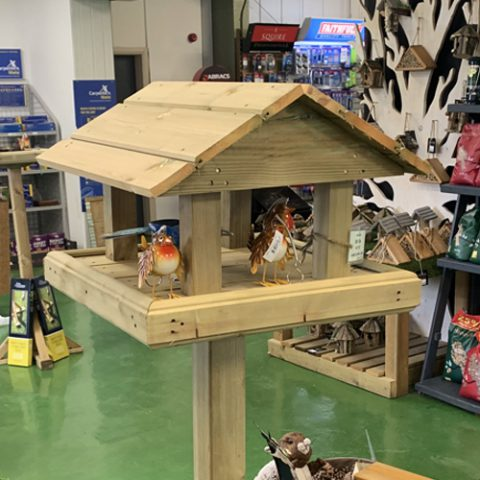 Earnshaws Bird Table
