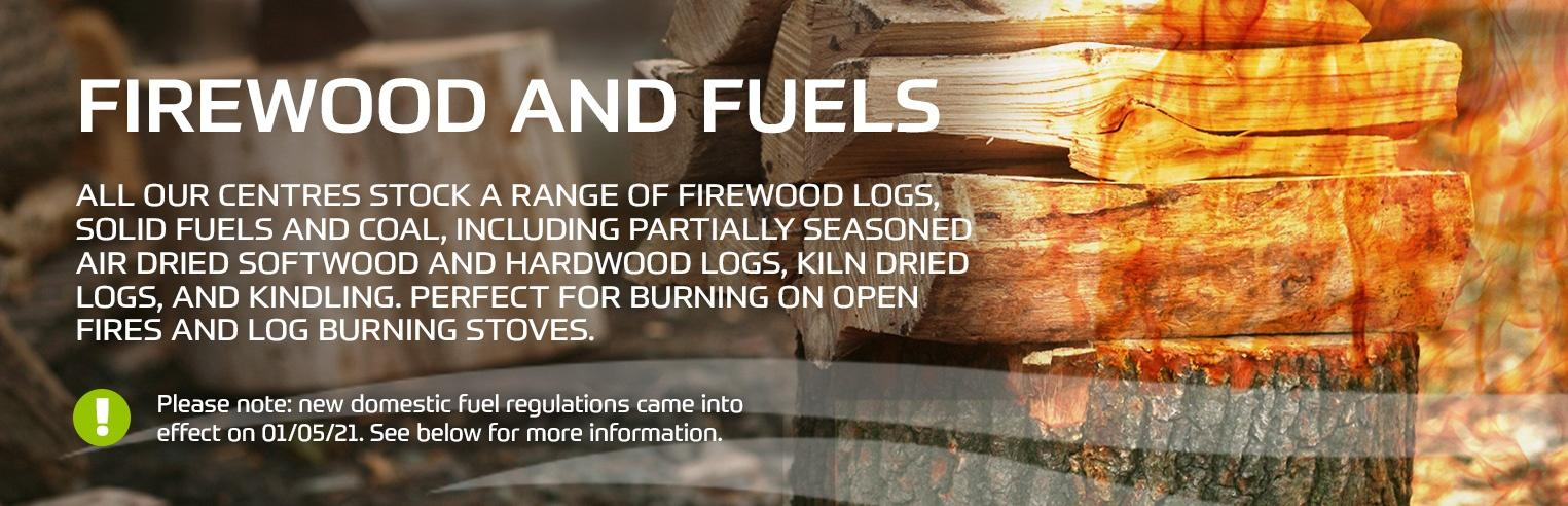About firewood and fuels at Earnshaws