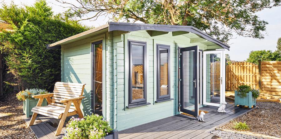 earnshaws garden cabin collection