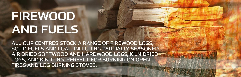 Earnshaws Fencing Centre Firewood