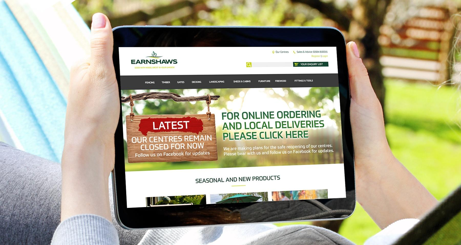 Online-Ordering and delivery update