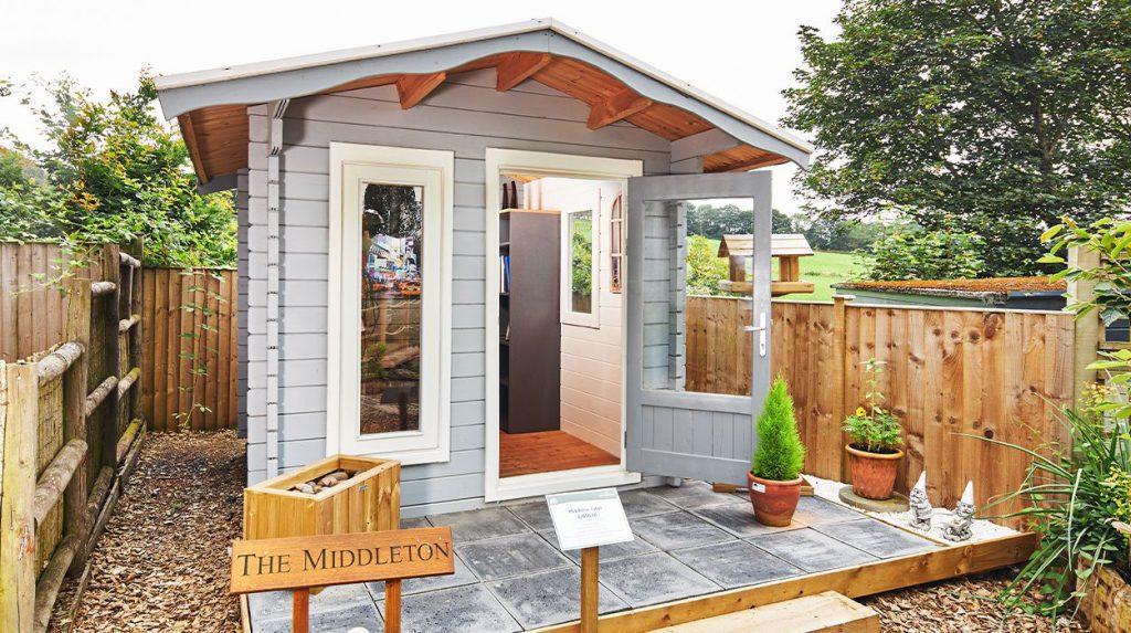 The Middleton cabin, Midgley