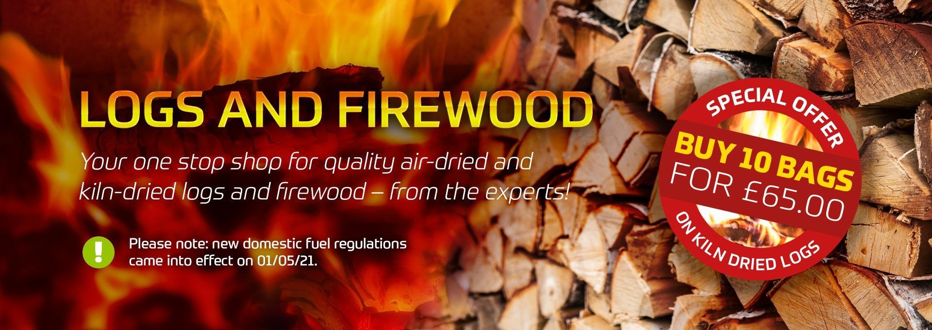 Firewood at Earnshaws