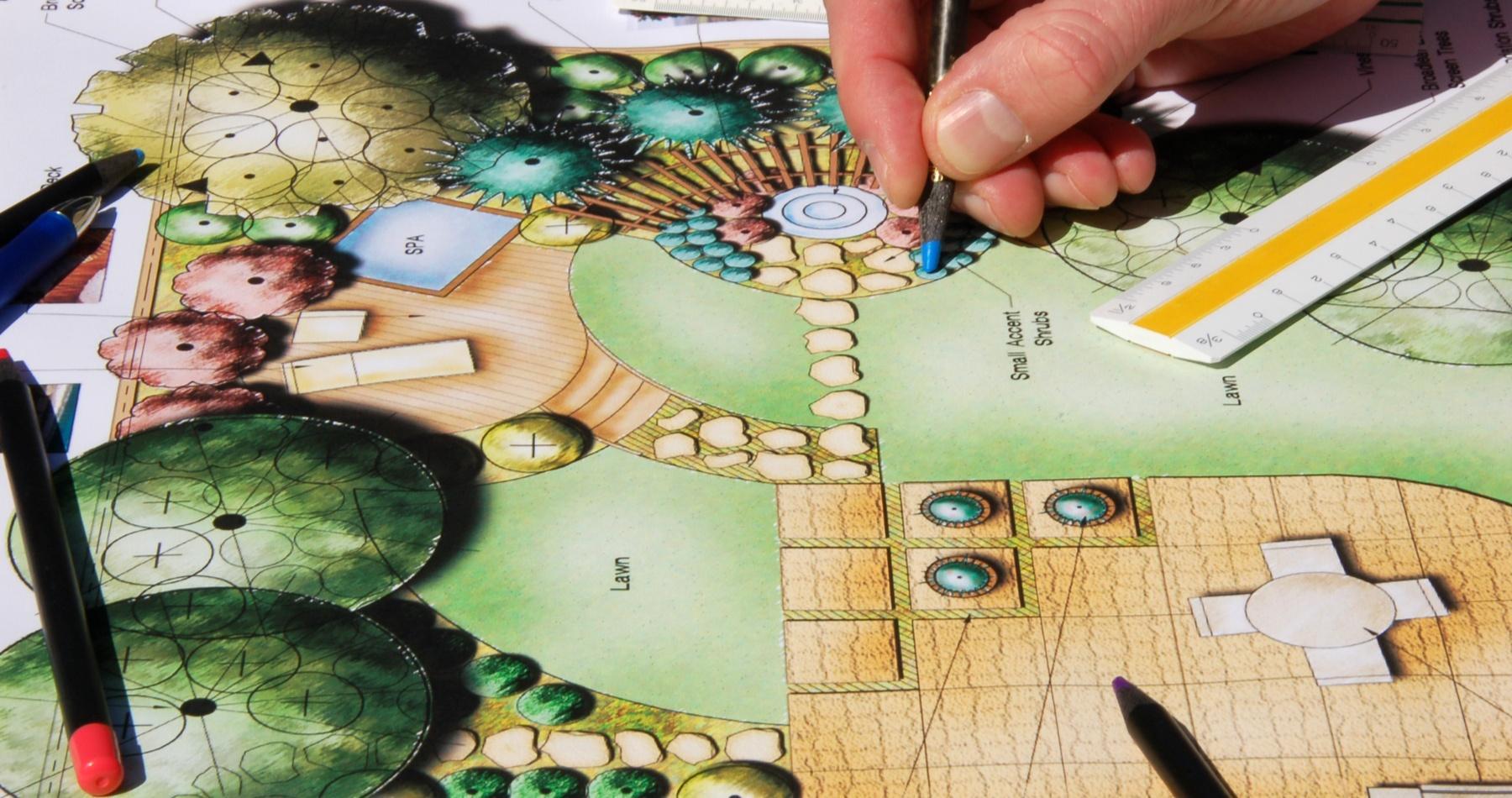 Garden getaway planning