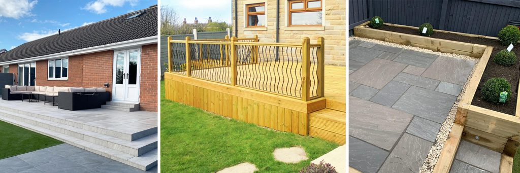 Paving, Decking and Timber Sleepers