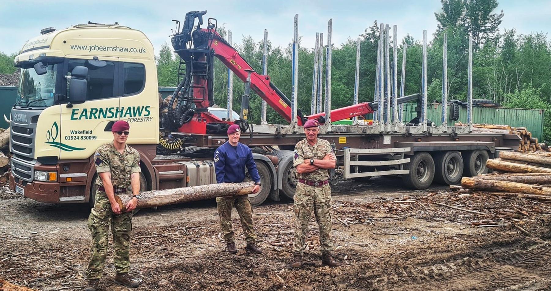 Para Regiment Training at Midgley