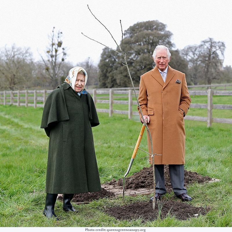 Her Majesty and the Prince of Wales