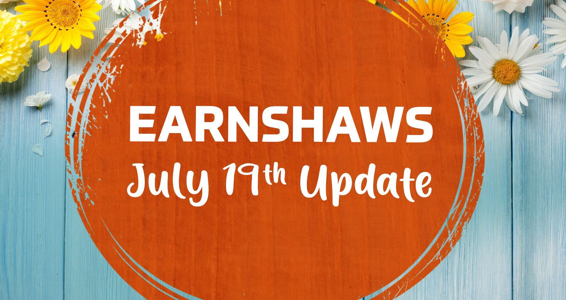 July 19th Update
