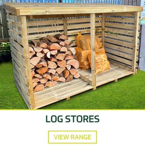 Log Stores - Earnshaws Fencing Centres