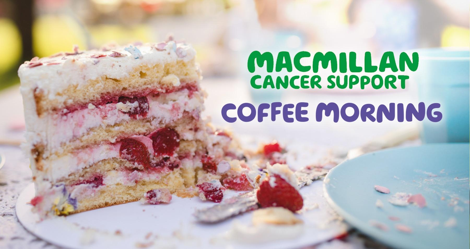 Macmillan Coffee Morning success at Earnshaws!